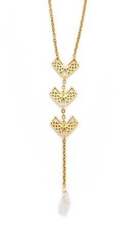 Vanessa Mooney The Handley Necklace - Gold