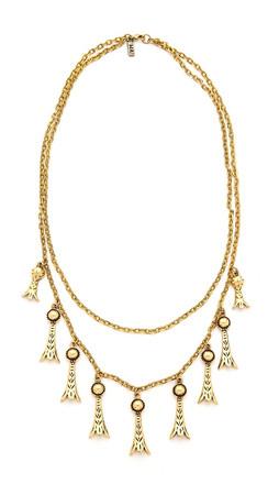 Vanessa Mooney The Holloway Necklace - Gold