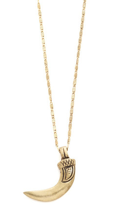 Vanessa Mooney The Wolves Club Necklace - Gold