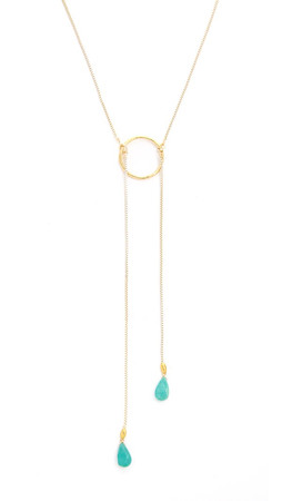 Vanessa Mooney The Zola Necklace - Gold
