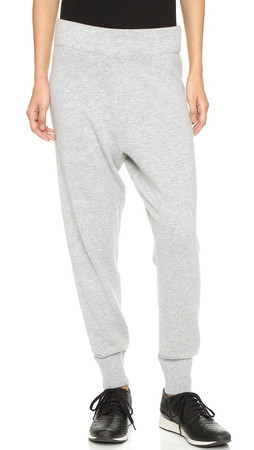 Vince Luxe Jogger Pants - H. Steel