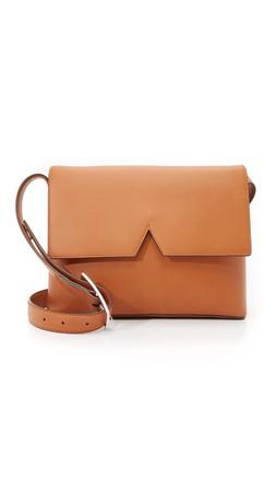 Vince Medium Cross Body Bag - Luggage