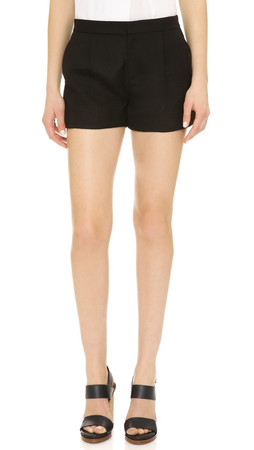 Vince Soft Tailored Shorts - Black
