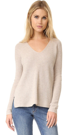 Vince Vee Pullover - Lt H Marzipan
