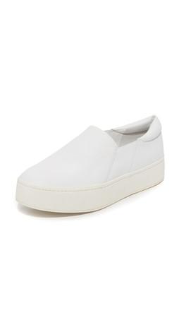 Vince Warren Platform Sneakers - Plaster