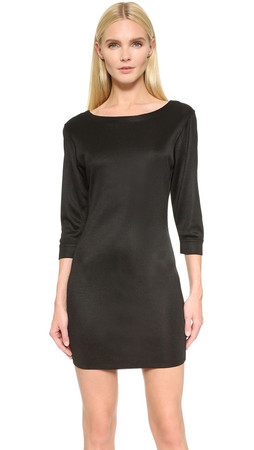 What Goes Around Comes Around Alaia Jersey Dress (Previously Owned) - Black