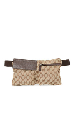 What Goes Around Comes Around Gucci Fanny Pack (Previously Owned) - Brown