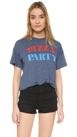 Wildfox The Pizza Party Pullover - After Midnight Blue