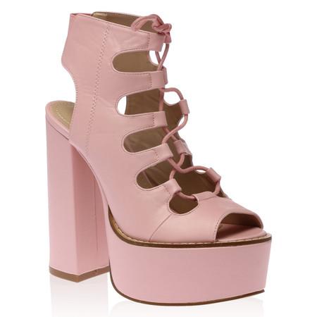 Lyla Platform Heels in Pink