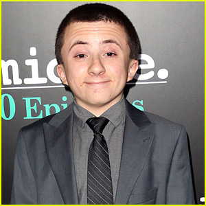 With Atticus Shaffer Who Plays Brick On The Middle Ew