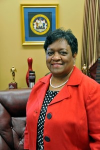 Dr. Juliette Bell is president of the University of Maryland Eastern Shore, her first stint as a university chief.