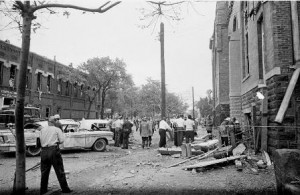 On September 15, 1963, four girls were killed by a bomb planted in the 16th Street Baptist Church in Birmingham, Ala.