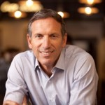 """Starbucks president and CEO Howard Schultz said that """"we can't be a great company, a great enduring country, if we're constantly leaving people behind."""""""