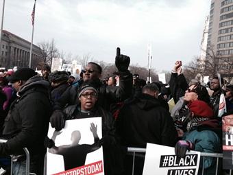 Protestors march Saturday in Washington, D.C.