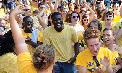 Goucher College, which is focusing on increasing its diversity, reported that 52 percent of the GVA applicants self-identified as students of color.