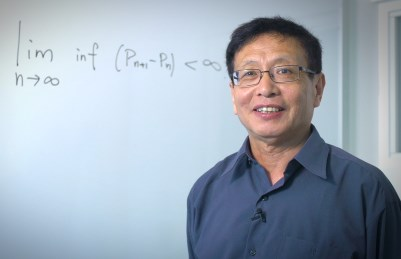 In 2013, Dr. Yitang Zhang proved an element of analytic number theory that had eluded mathematicians for centuries. (Photo courtesy of the University of New Hampshire)