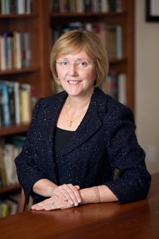 """Smith College President Kathleen McCartney amended the admission policy with an eye toward adhering to the school's mission as """"a woman's college."""""""