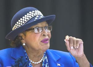 Rep. Alma Adams (D-N.C.) said that more attention needs to be paid to the fact that some states are failing to match USDA funding to 1890 schools as stipulated.