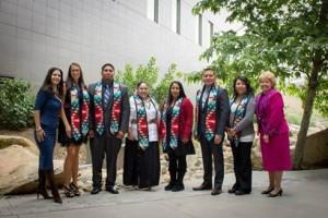 Graduating 2015 Native American students (Photo courtesy of California State University, San Marcos).