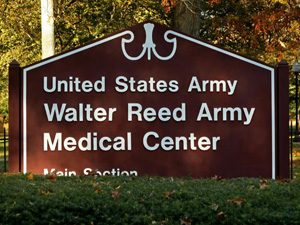 Walter-Reed-Army-Medical-Center-Sign