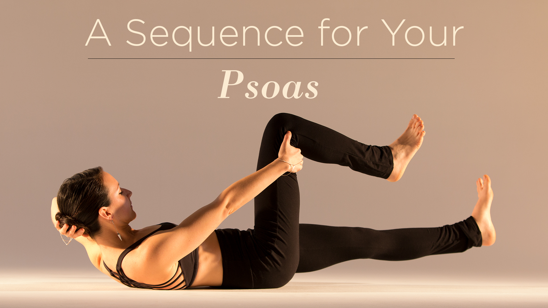 A Sequence for Your Psoas