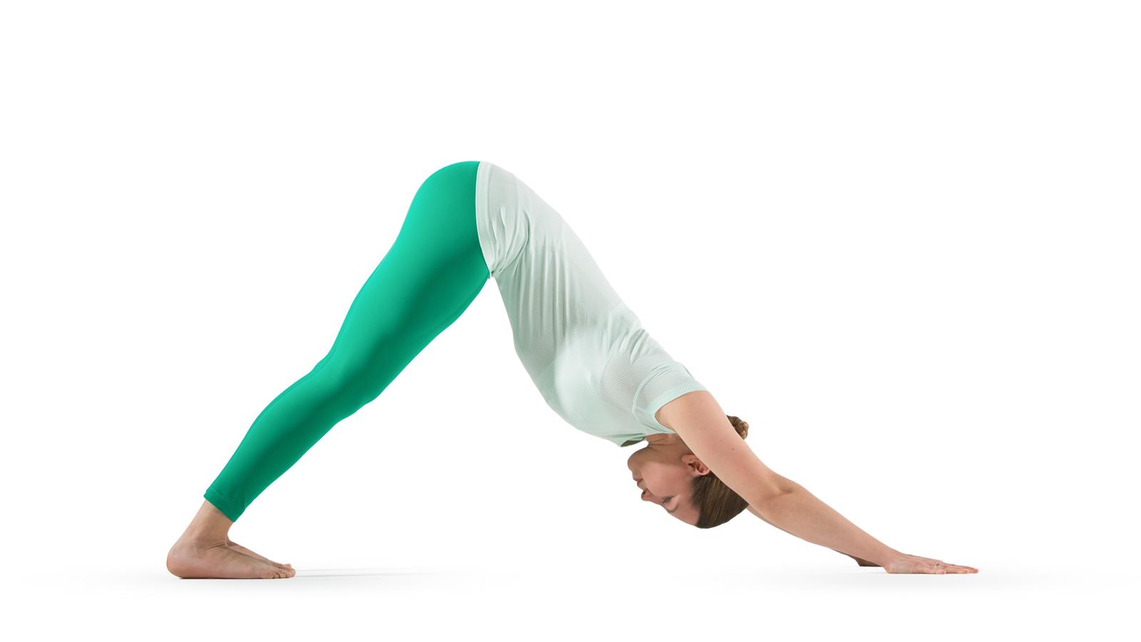 image of downward dog yoga pose