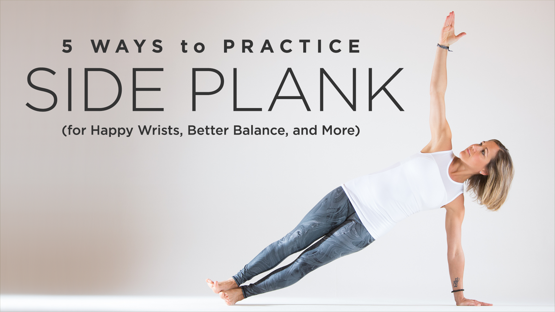 Free Talk On Mindfulness Practice For >> 5 Ways to Practice Side Plank | Yoga International