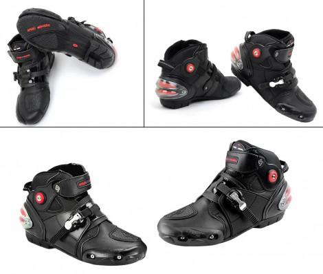 Pro-Biker Bike Riding Shoes Black Size-8