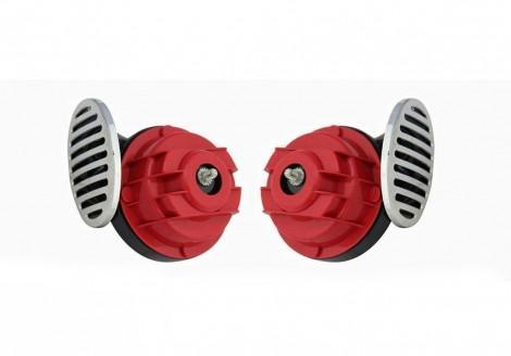 Type R Super Car / Bike Horns - Set of 2