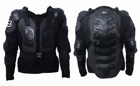 Fox Riding Gear Body Armor Jacket for Bike / Two Wheeler Driving-S(36)