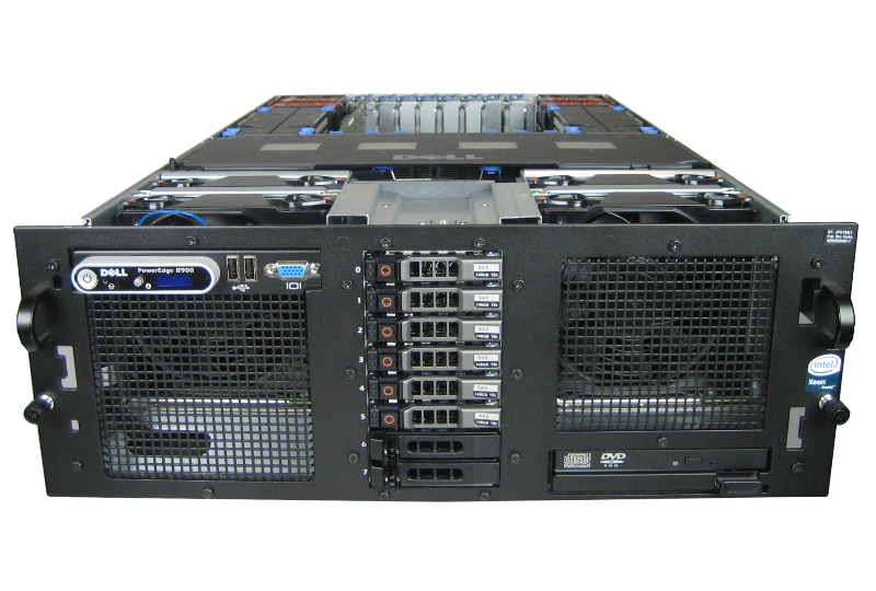 Dell PowerEdge R900 ( 4 CPU Version )
