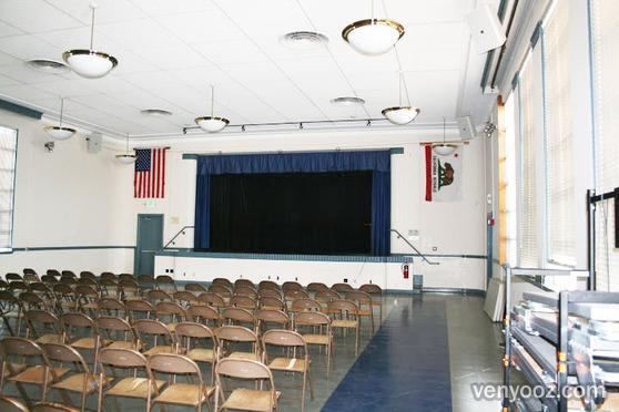 Auditorium At Grant Elementary School Santa Monica Ca