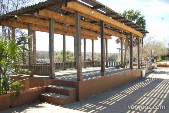Building And Patio At Fiesta Gardens   Austin, TX | Venyooz