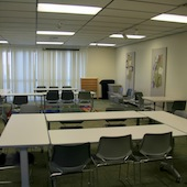 Conference Room at Santa Monica Library (Fairview Branch)