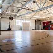 Gymnasium at Boys & Girls Club of Hollywood