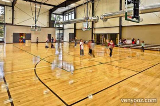 Large Gym At Charles Jordan Community Center Portland