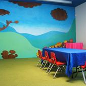Private Activity Room at Books and Cookies
