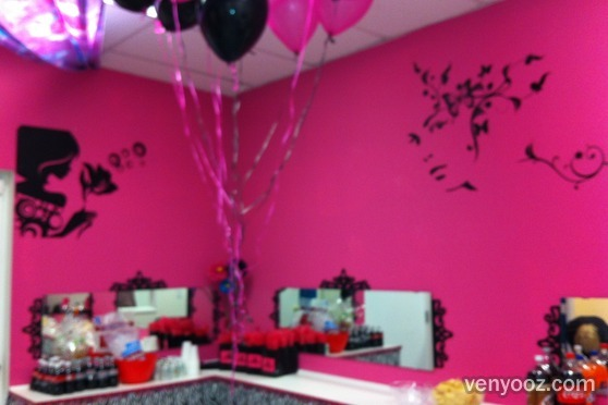 private party room at bold girlz party place costa mesa ca venyooz
