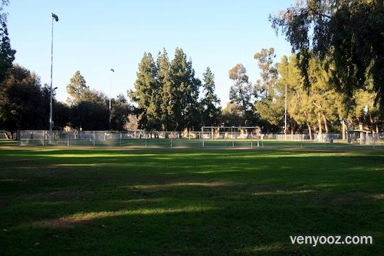 soccer field at lanark recreation center