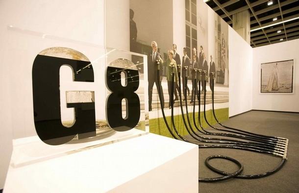 """""""G8"""" by Andrei Molodkin"""