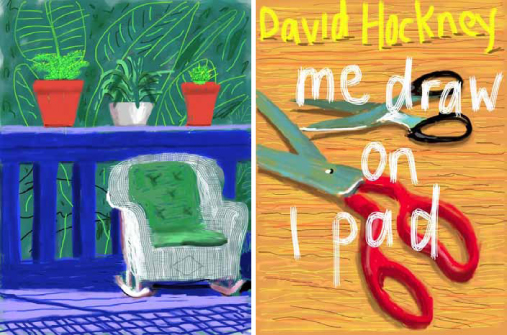 Hockney Me Draw on iPad Louisiana Museum 3