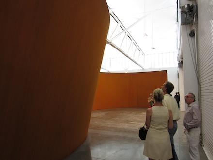 Richard Serra-Juction/Cycle-Gagosian