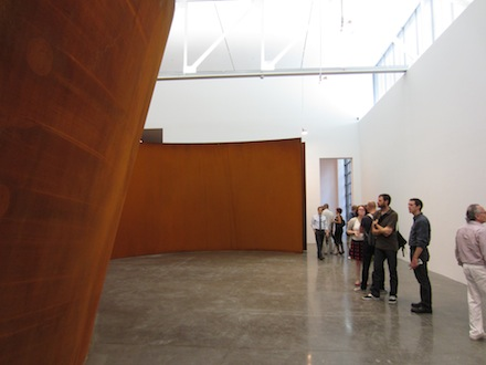Richard Serra-Juction/Cycle-Gagosian
