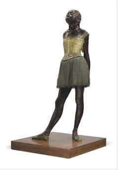 Edgar Degas Petite Danseuse de Quatorze Ans executed in wax c. 1879-1881 and cast later