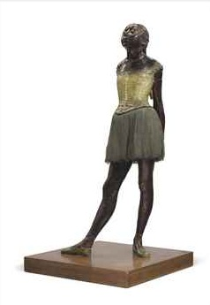 Edgar Degas, Petite Danseuse de Quatorze Ans, executed in wax c. 1879-1881
