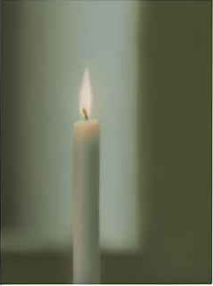 Gerhard Richter Kerze (Candle) 1982