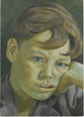 Lucian Freud Boy's Head 1952