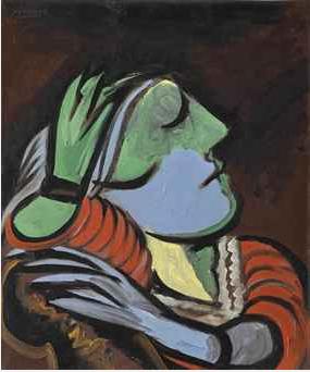 Pablo Picasso Femme Endormie 1935