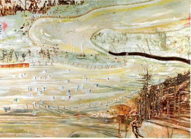 Peter Doig Bellevarde 1995