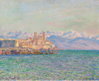 Claude Monet Antibes, Le Fort 1888